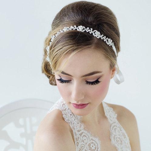 Leanna Crystal Luxe Hair Vine, Special Occasion Hair Accessories, Bridal Hair, P