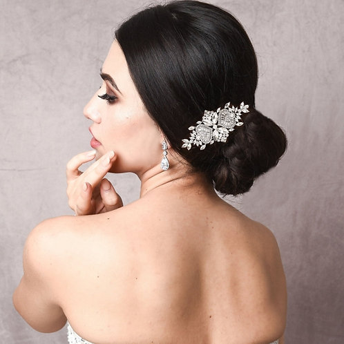 Exquisite Crystal Sparkle Comb, Available in Silver, Rose Gold or Gold, Bridal A