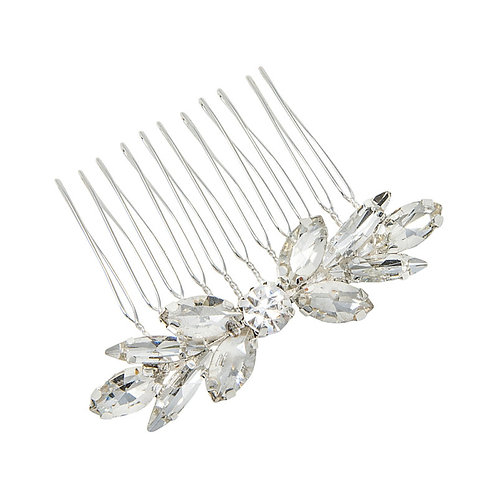 Dainty Divine Hair Comb, Available in Silver or Gold, Bridal Accessories, Bridal