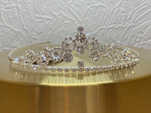 Bridal Tiara, Wedding Tiara, Bridal Accessories, Silver Tiara