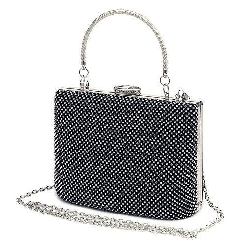 Beautiful Starlet Luxe Crystal Bag, Gold, Silver or Black