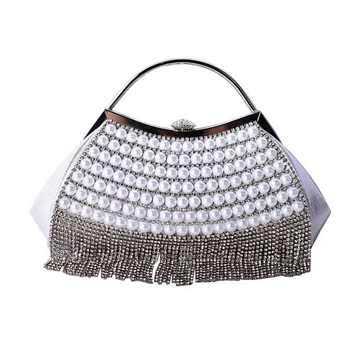 Beautiful Gatsby Inspired Embellished Clutch Handle Bag, Bridal Bag