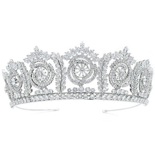 Bejewelled Starlet Tiara, Wedding Tiara, Crystal