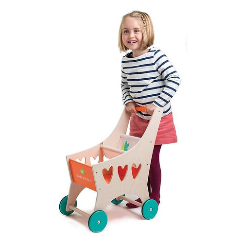 Shopping cart by tender leaf toys