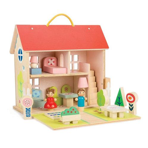 Tender leaf dolls house set
