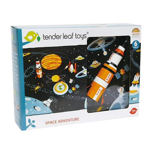Space adventure tender leaf