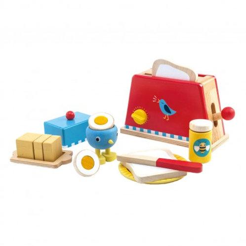Tender leaf Toaster and egg set