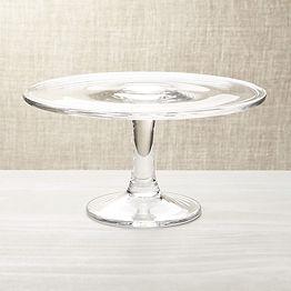 Glass Cake Platters
