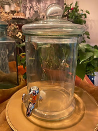 Glass Beverage Dispenser - 2 Gallons