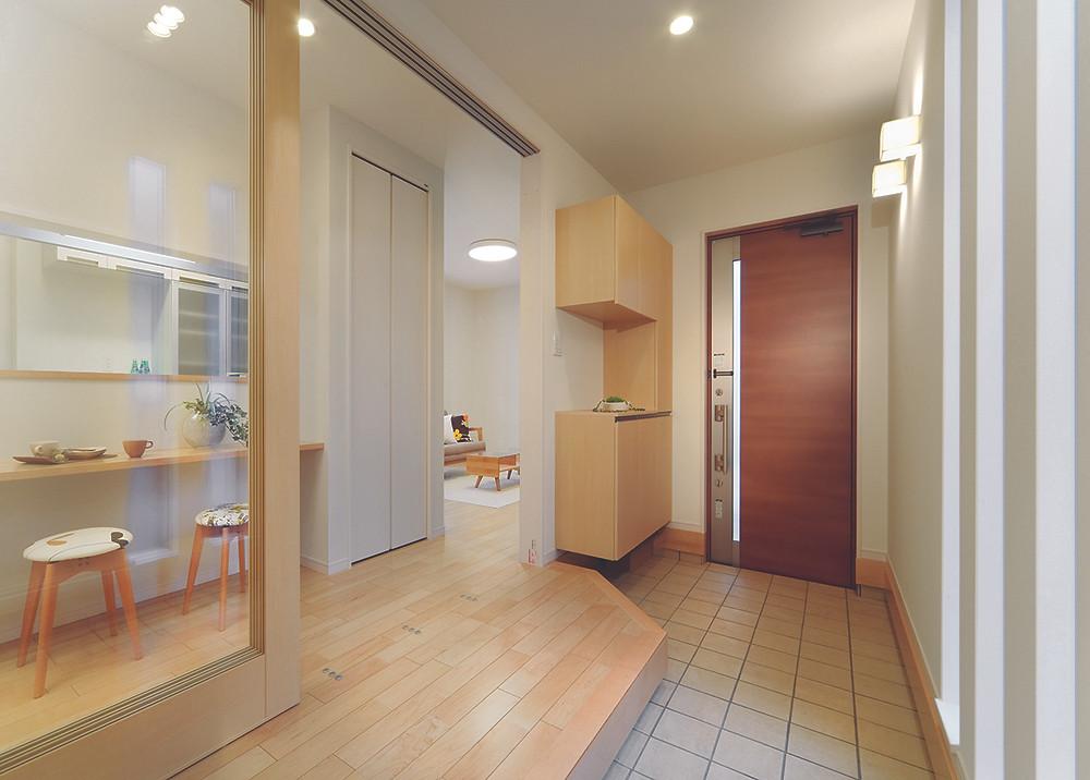 不動産 モデルハウス 玄関 2 | entrance