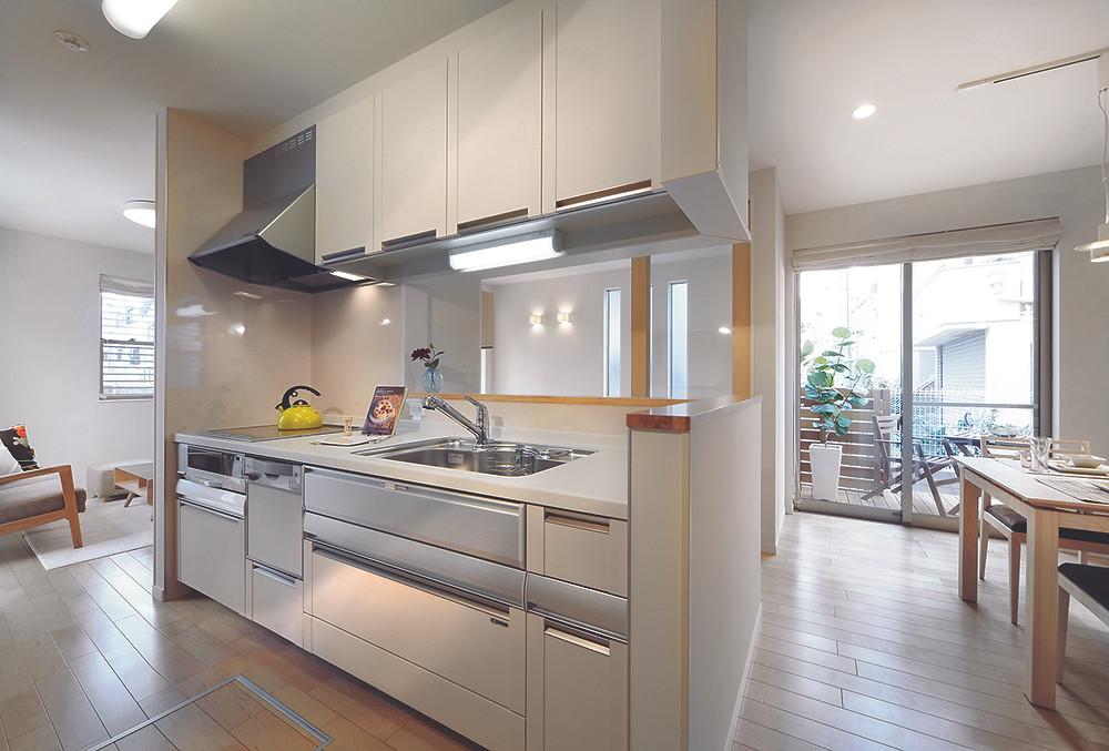 不動産 モデルハウス キッチン | kitchen