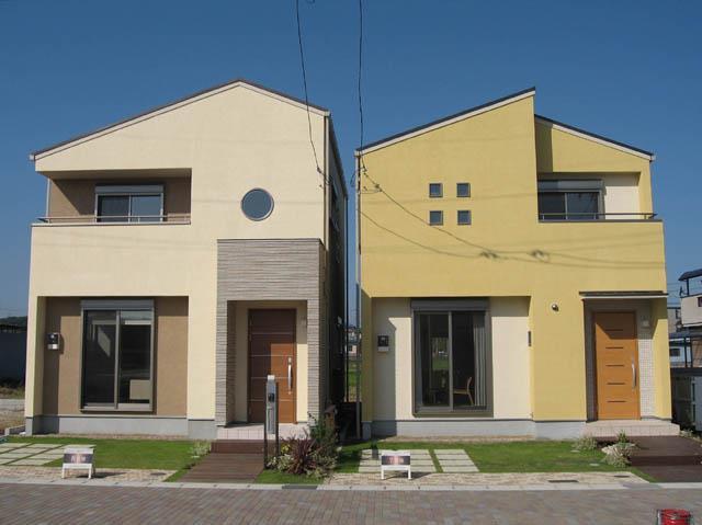 不動産 まちづくり モデルハウス 1 | facade