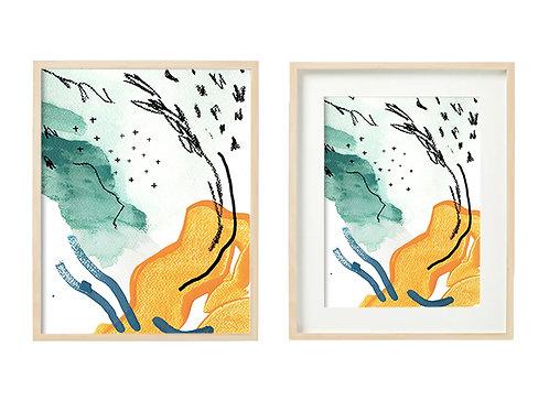 O5 Enthused Series - Original Artwork Prints