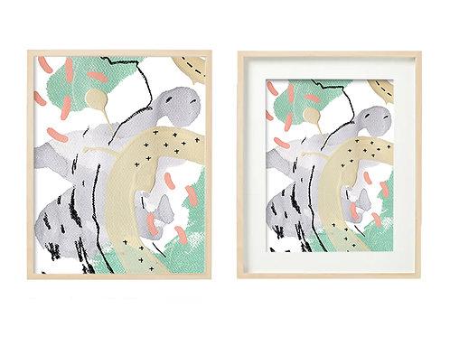 G6 Cotton Candy Series - Original Artwork Prints