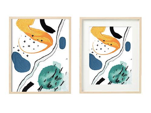 O8 Enthused Series - Original Artwork Prints