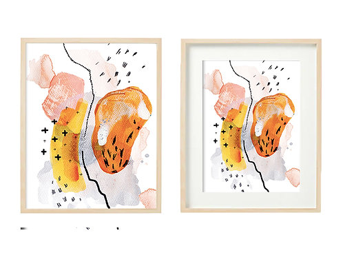 O4 Buoyant Spirit Series - Original Artwork Prints