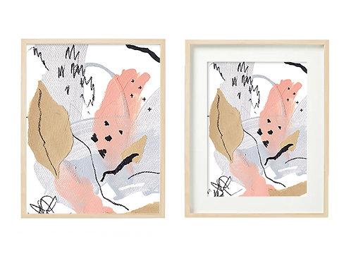 P2 Candle In Winter Series - Original Artwork Prints