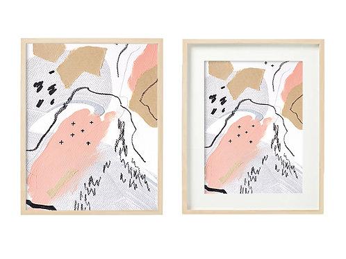 P1 Candle In Winter Series - Original Artwork Prints
