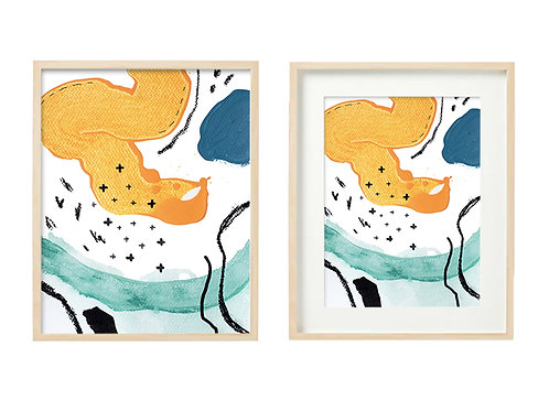 O6 Enthused Series - Original Artwork Prints