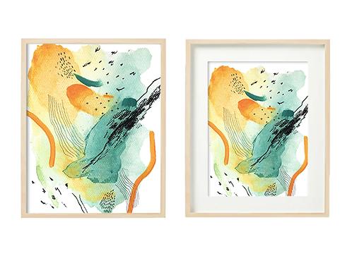 G4 Well-Being Series- Original Artwork Prints