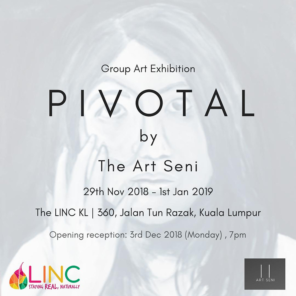 PIVOTAL Exhibition poster