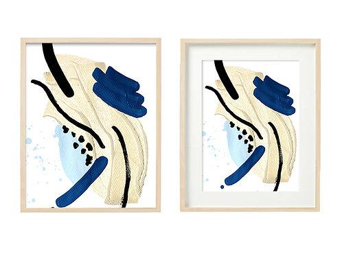 B5 Sea Sand Series -Original Artwork Print