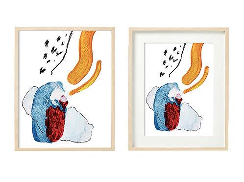 L4 September's Love Series - Original Artwork Prints
