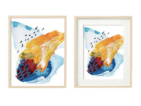 L3 September's Love Series - Original Artwork Prints