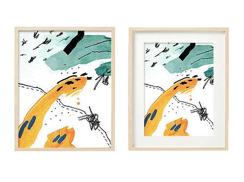 O7 Enthused Series - Original Artwork Prints