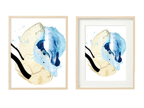 B6 Sea Sand Series -Original Artwork Print