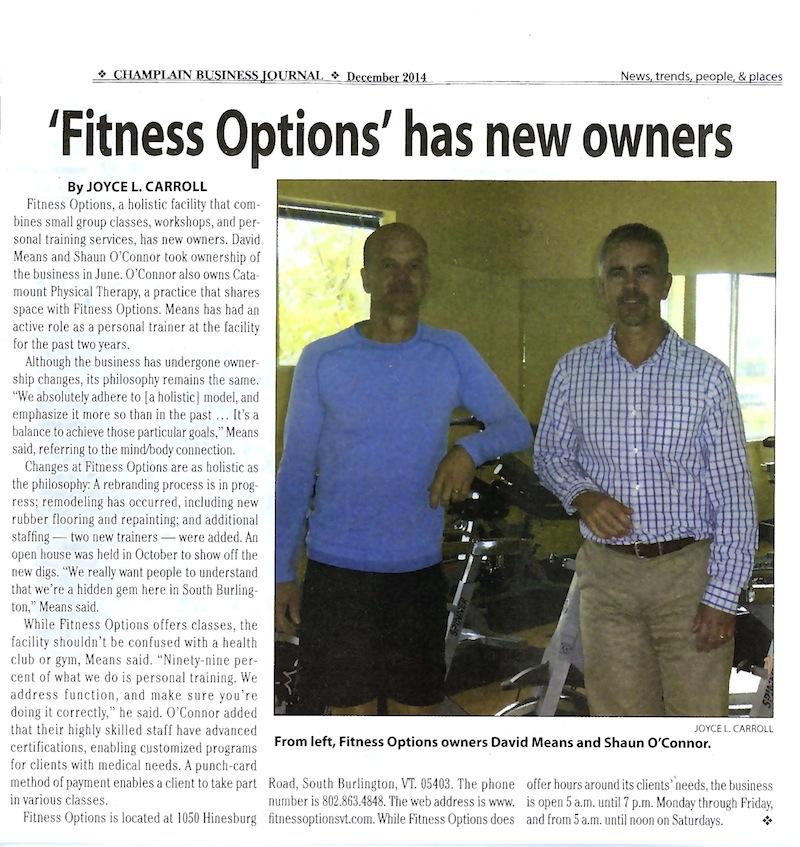 Champlain Business Journal Article