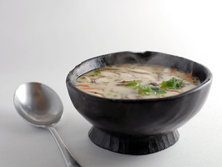 Coconut Chicken Soup by Elana's Pantry