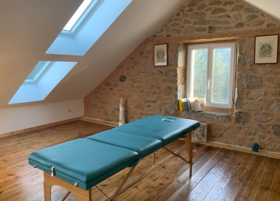 Salle d'activité-massage