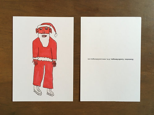 Carte Postale Père Noël