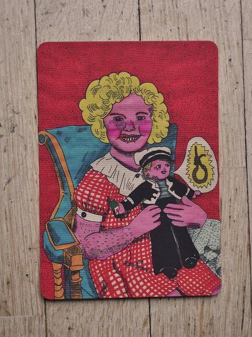 """carte postale""""petit marin"""""""
