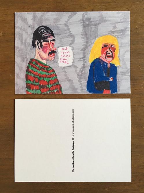 "Carte Postale ""pervers"""