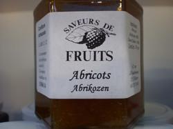 Confiture d'abricots 320g