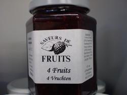 Confiture 4 fruits 320g