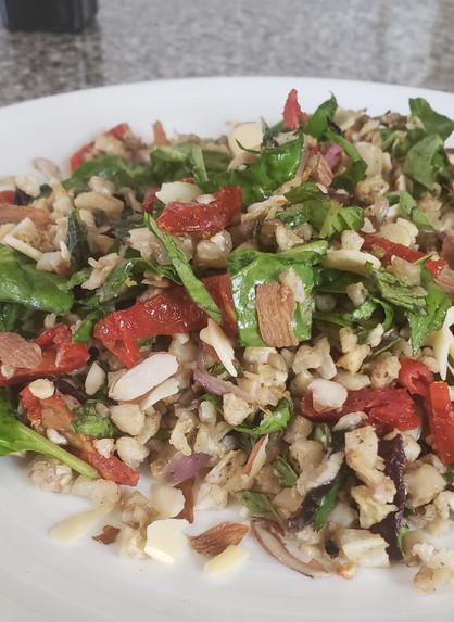 Mediterranean Cauliflower Rice Pilaf