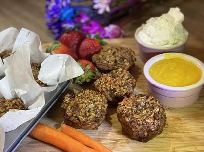 Carrot Cake Blender Muffins!
