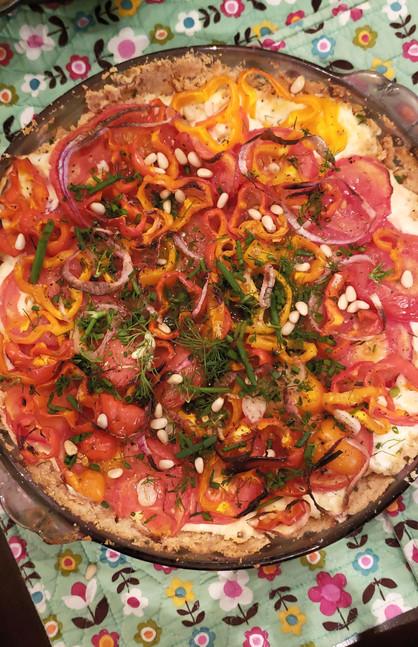 Herb Tomato Tart!