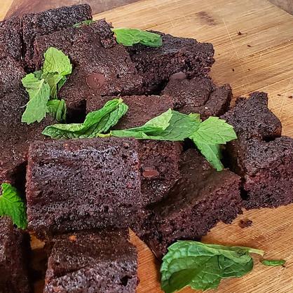 Oh My, Mint Chocolate Keto Brownies? YUM!