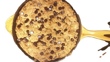PB & CC Cookie Skillet