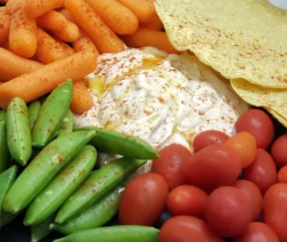 """Sassy White Bean Hummus! """"As seen on Daytime with Kimberly & Esteban!"""""""