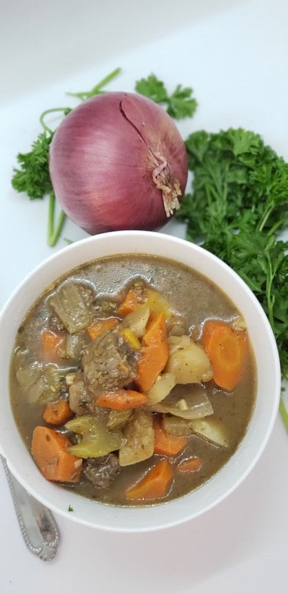 Healthy, Hearty Irish Beef Stew