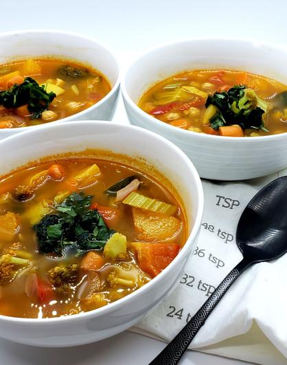 Latin Citrus Vegetable Soup