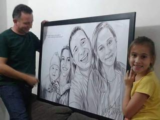 Quadro Tamanho Família