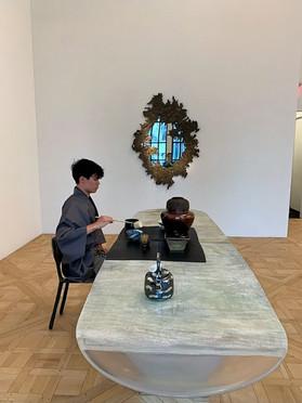 The Art of the tea ceremony in New York@Private reception Vincenzo De Cotiis @Carpenterswarkshopga