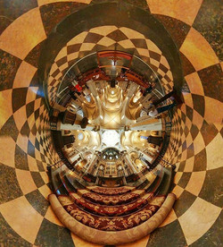 The detailed interior found in #churches lend themselves to #360photography