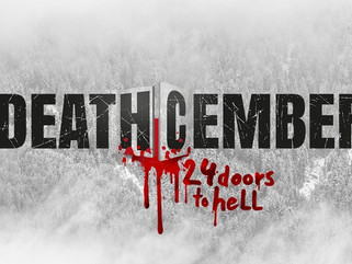 Wrapped DEATHCEMBER, directed by Pollyanna McIntosh (The Walking Dead)